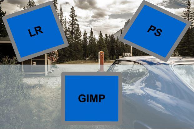 Bildbearbeitungsprogramme im Test: Lightroom, Photoshop und Gimp