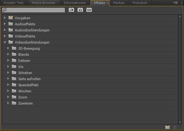 Blenden-Premiere Pro