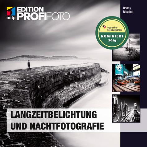 Cover des Fotobuches Langzeitbelichtung und Nachtfotografie von Ronny Ritchel