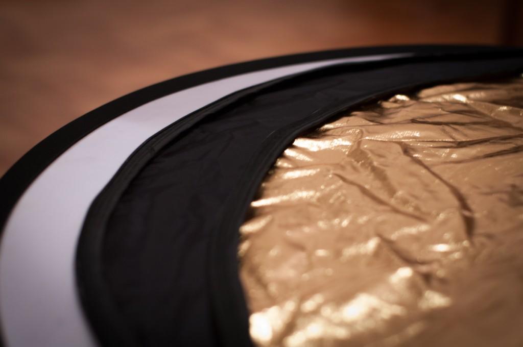Reflektoren in Schwarz und Gold