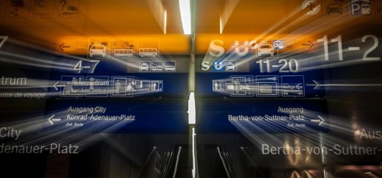 3D-Fotografie am Düsseldorfer Hauptbahnhof