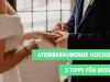 5 Tipps für ATEMBERAUBENDE Hochzeitsfotos
